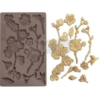 Prima Marketing - Decor Mould, Cherry Blossoms, Silikonimuotti