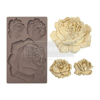 Prima Marketing - Decor Mould, Etruscan Rose, Silikonimuotti