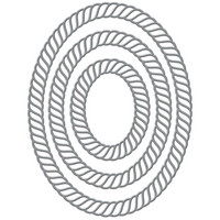 Spellbinders - Stanssisetti, Elegant Twist Ovals