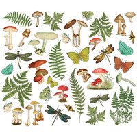 Simple Stories - Simple Vintage Great Escape Foliage Bits & Pieces Die-Cuts, 39 osaa