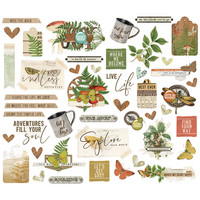 Simple Stories - Simple Vintage Great Escape Bits & Pieces Die-Cuts, 46 osaa