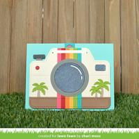 Lawn Fawn - Magic Iris Camera Add-on, Stanssisetti