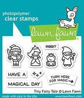 Lawn Fawn - Tiny Fairy Tale, Leimasetti