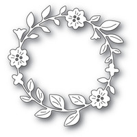 Memory Box - Bellfower Circle Wreath, Stanssi