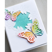 Memory Box - Pinpoint Leaf Circle Collage, Stanssi