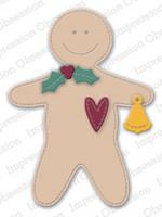 Impression Obsession - Primitive Gingerbread, Stanssisetti