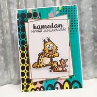 Korttipaja.fi - Kamala Luonto, Juhlitaan, Leimasinsetti