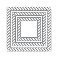 Spellbinders - Etched Dies By Becca Feeken, Stanssisetti, Elegant Twist Squares