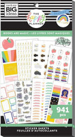 MAMBI - Happy Planner, Books Are Magic, Tarrasetti, 30arkkia