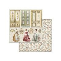 Stamperia - Princess, Paper Pack 8