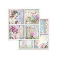 Stamperia - Hortensia, Paper Pack 8