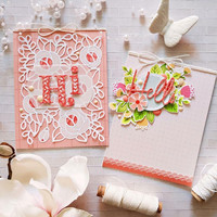 Pinkfresh Studio - Lovely Blossoms, Leimasetti