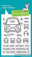 Lawn Fawn - Car Critters, Leimasetti