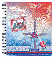 Studio Light - Art By Marlene Go Dutch Collection nr.10, Spiral Bound Journal
