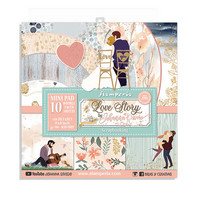 Stamperia - Love Story, Paper Pack 8