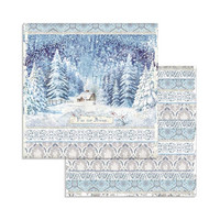 Stamperia - Winter Tales, Paper Pack 8