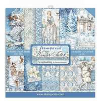 Stamperia - Winter Tales, Paper Pack 12