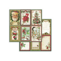 Stamperia - Classic Christmas, Paper Pack 8