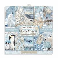 Stamperia - Arctic Antarctic, Paper Pack 8