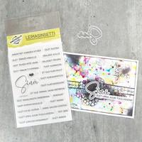 Korttipaja.fi - Sinä, Leimasinsetti +stanssi