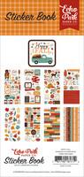Echo Park - Happy Fall, Sticker Book, Tarrasetti