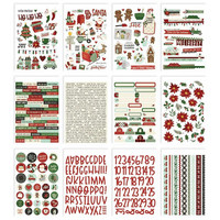 Simple Stories - Jingle All The Way, Tarrasetti, 12 arkkia