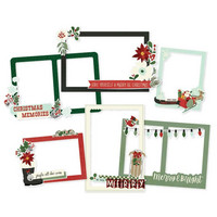 Simple Stories - Jingle All The Way, Chipboard Frames