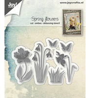Joy Crafts - Spring Flowers, Stanssisetti