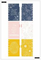 MAMBI - MINI Happy Notes™, Floral Line Art (hieman jälkiä kansissa)