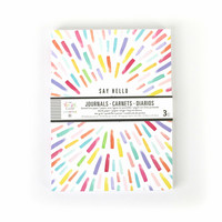 MAMBI - 3 Pack Journals, Live Creatively