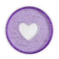 Mambi - Happy Planner renkaat, Glitter Grape, 1,75