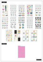 MAMBI - Happy Planner, Dashboard Stickers - Feline Good, Tarrasetti, 14arkkia