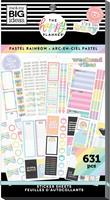 MAMBI - Happy Planner, Pastel Rainbow, Tarrasetti, 30arkkia