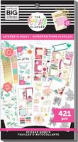MAMBI - Happy Planner, Layered Florals, Tarrasetti, 30arkkia