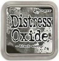 Tim Holtz - Distress Oxide Ink, Leimamustetyyny, Black Soot