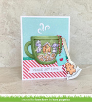 Lawn Fawn - Outside In Stitched Mug, Stanssisetti
