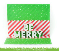 Lawn Fawn - Pop-up Be Merry, Stanssi