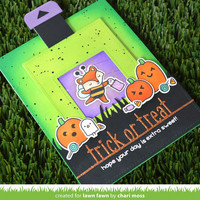 Lawn Fawn - Trick or Treat Line Border, Stanssi