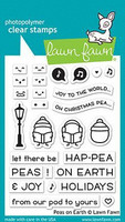 Lawn Fawn - Peas on Earth, Leimasetti