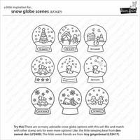 Lawn Fawn - Snow Globe Scenes, Leimasetti