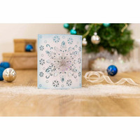 Crafter`s Companion - Sara Signature Collection Glittering Snowflakes, Stanssi, Frosted Dimension