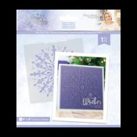 Crafter`s Companion - Sara Signature Collection Glittering Snowflakes, Kohokuviointitasku, Frosted Elegance