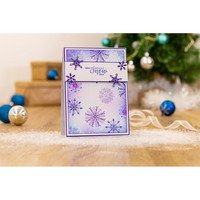 Crafter's Companion - Sara Signature Collection Glittering Snowflakes Sapluuna 6