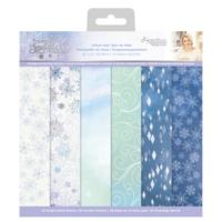 Crafter`s Companion - Sara Signature Glittering Snowflakes, Vellum, 12