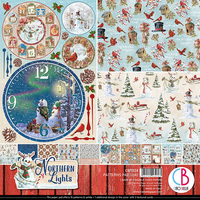Ciao Bella - Northern Lights, Double-Sided Patterns Pad 12