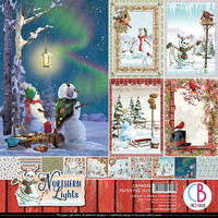 Ciao Bella - Northern Lights, Double-Sided Paper Pad 12