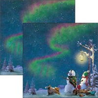 Ciao Bella - Northern Lights Double-Sided Paper Pad 6