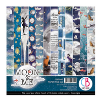 Ciao Bella - Moon & Me Double-Sided Paper Pad 6