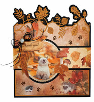 Studio Light - Wonderful Autumn, Die Cut Book Nr.664, Leikekuvat