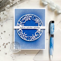 Hero Arts - Snowflake Medallion, Stanssi